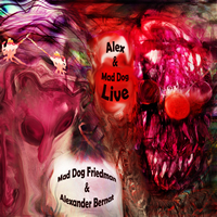Alex & Mad Dog Live Cover